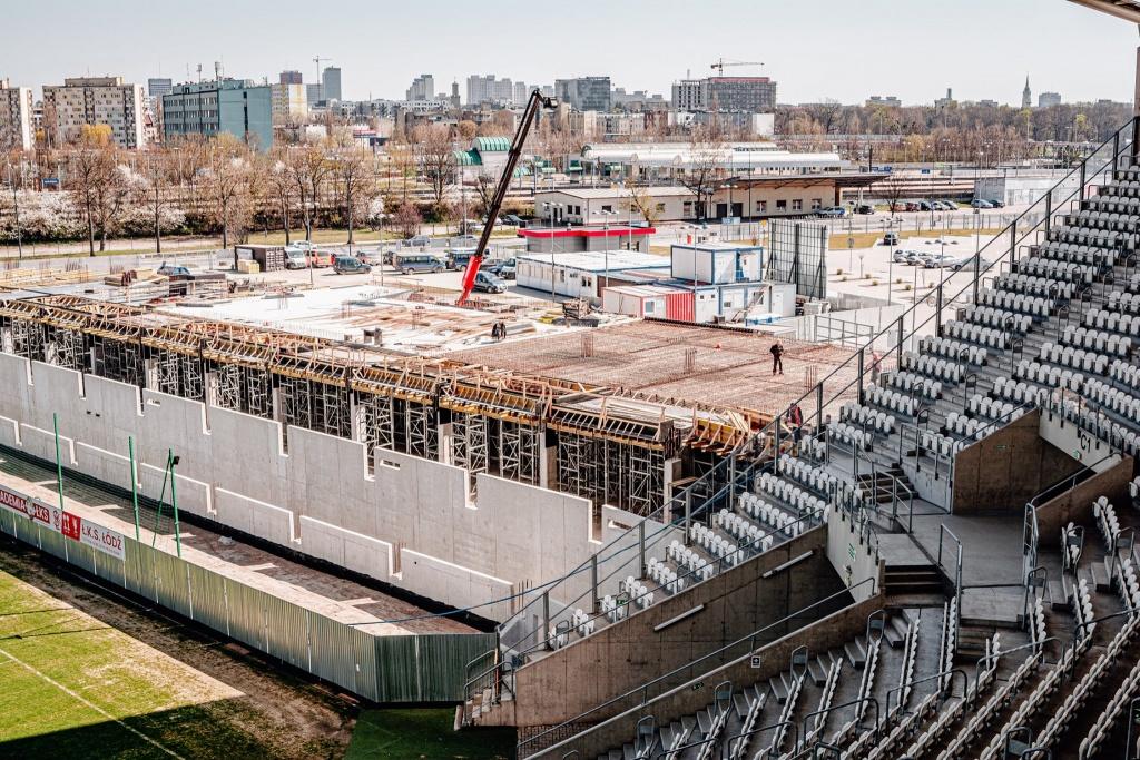 Co słychać na stadionie ŁKS-u? [ZOBACZ ZDJĘCIA] - Zdjęcie główne