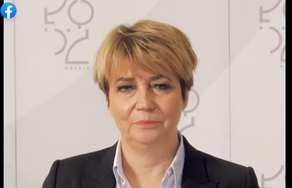 """Spór o udział w protestach. Zdanowska: """"Bardzo proszę nie straszyć i nie prześladować uczniów, rodziców i nauczycieli"""" [WIDEO] - Zdjęcie główne"""