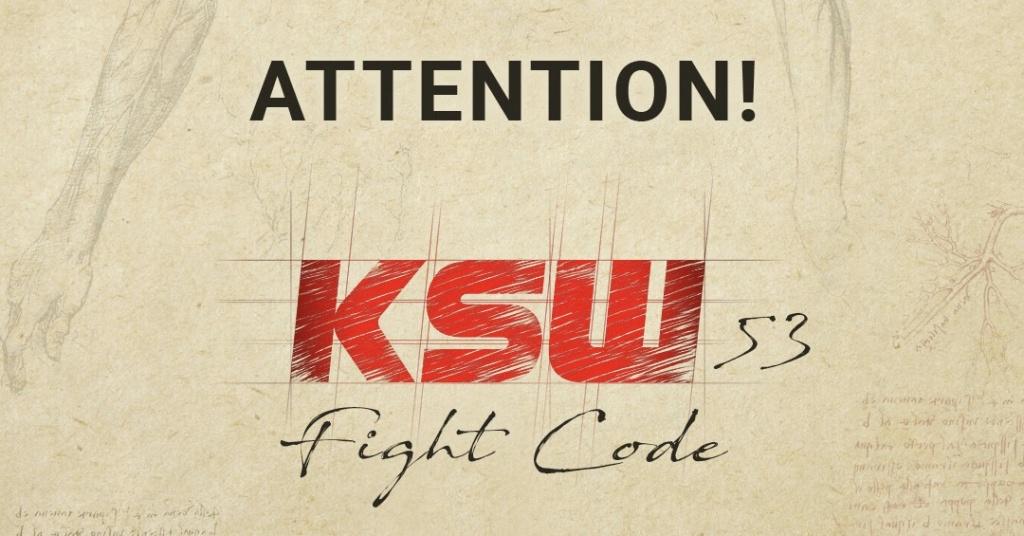 Uwaga! Zmiany w KSW 53!  - Zdjęcie główne