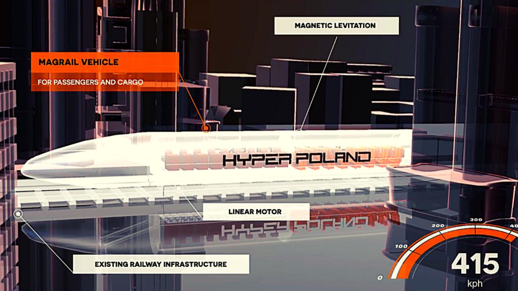 Jest alternatywa dla Kolei Dużych Prędkości. Z Łodzi do Warszawy dojedziemy w 25 min [WIDEO] - Zdjęcie główne