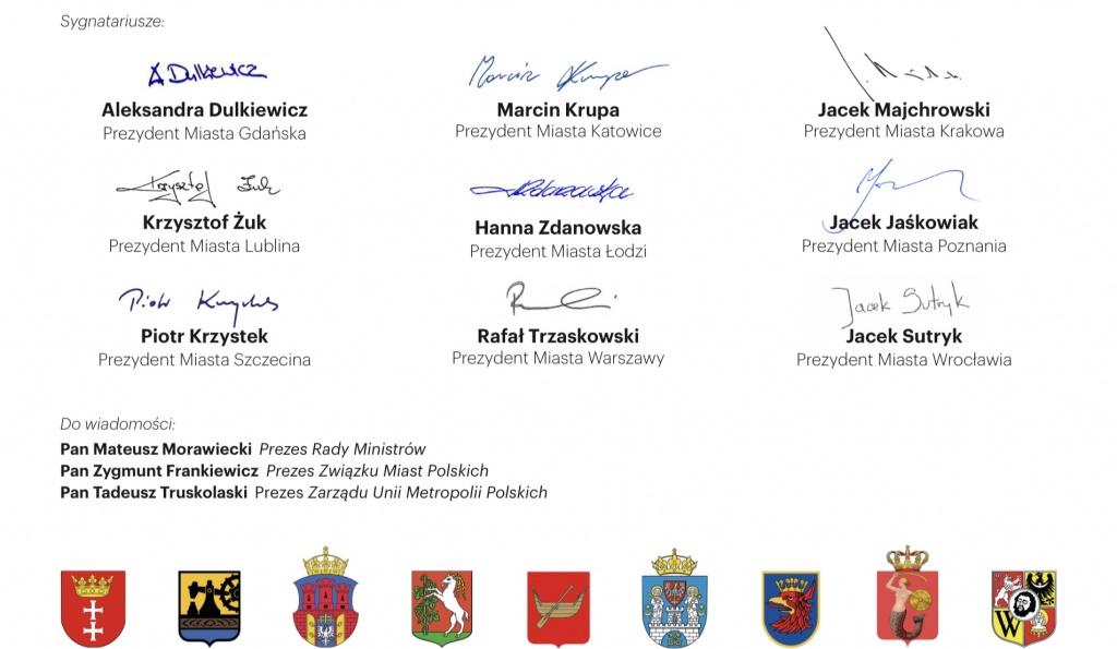 Prezydenci dziewięciu miast reaktywują Koalicję Miast dla Kultury i piszą list do ministra kultury - Zdjęcie główne