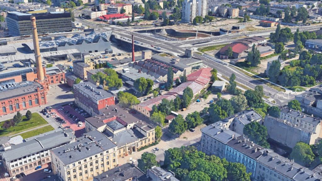 Miasto sprzedało działkę w Nowym Centrum Łodzi. Za połowy kwoty, niż planowało. Co na niej powstanie? [MAPA] - Zdjęcie główne
