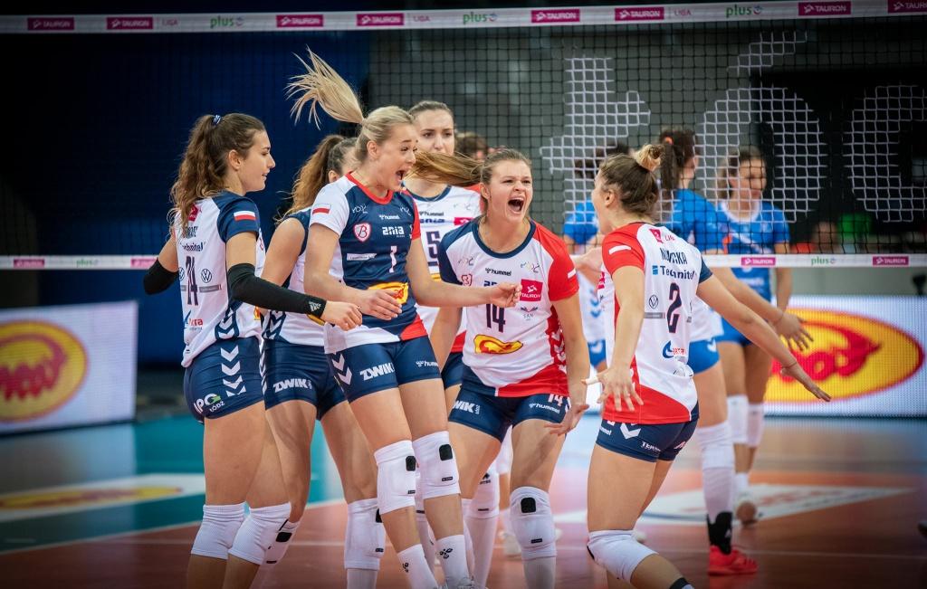 Lekko nie było, ale Grot Budowlani Łódź wywożą cenne zwycięstwo z Wrocławia - Zdjęcie główne