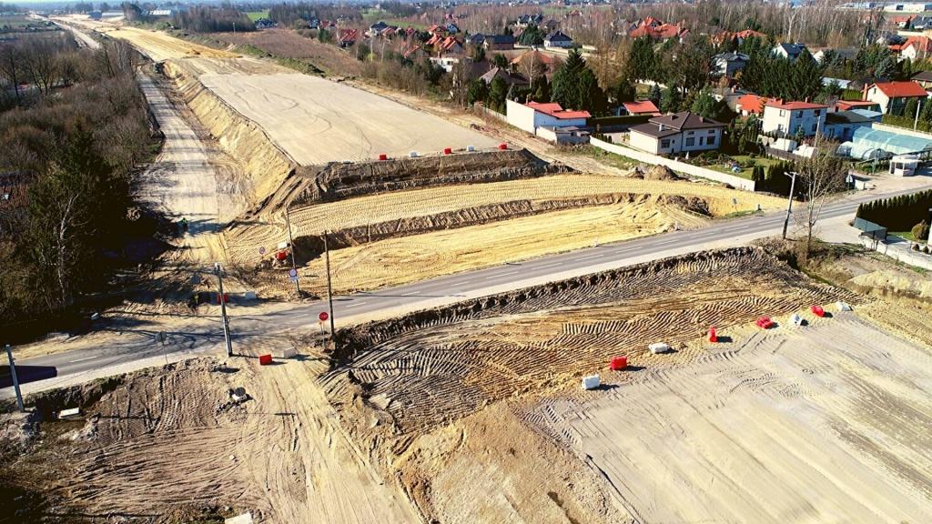 S14: Start budowy zachodniej obwodnicy Łodzi! Unikatowe zdjęcia lotnicze z budowy. Zobacz! [ZDJĘCIA | WIDEO] - Zdjęcie główne