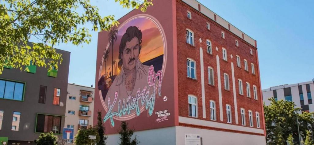 Wyjątkowy mural Krzysztofa Krawczyka odsłonięty! Czy podobny powinien powstać w Łodzi? [sonda] - Zdjęcie główne