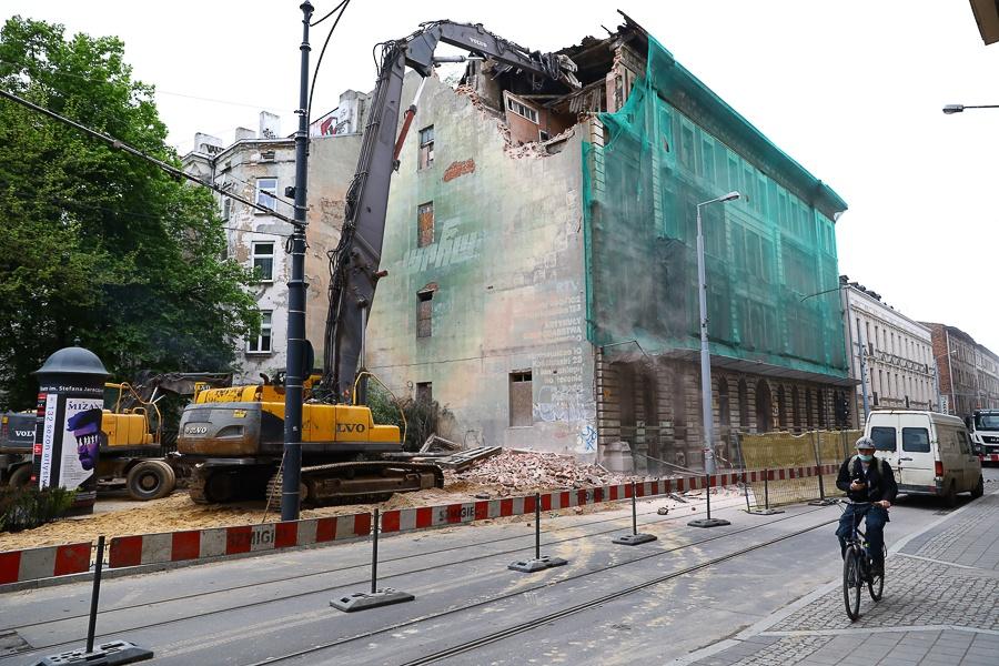 Kamienica przy ul. Kilińskiego 49 zniknie z mapy Łodzi! To już ruina [zdjęcia] - Zdjęcie główne
