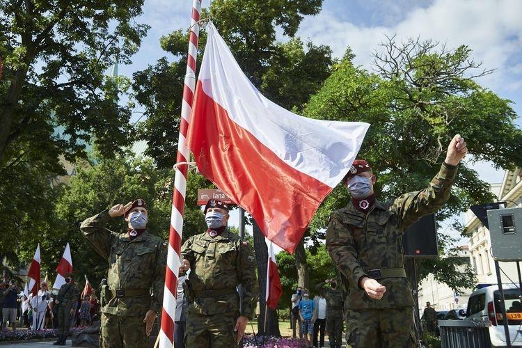 Setna rocznica Bitwy Warszawskiej. Łódź uczciła bohaterów - Zdjęcie główne