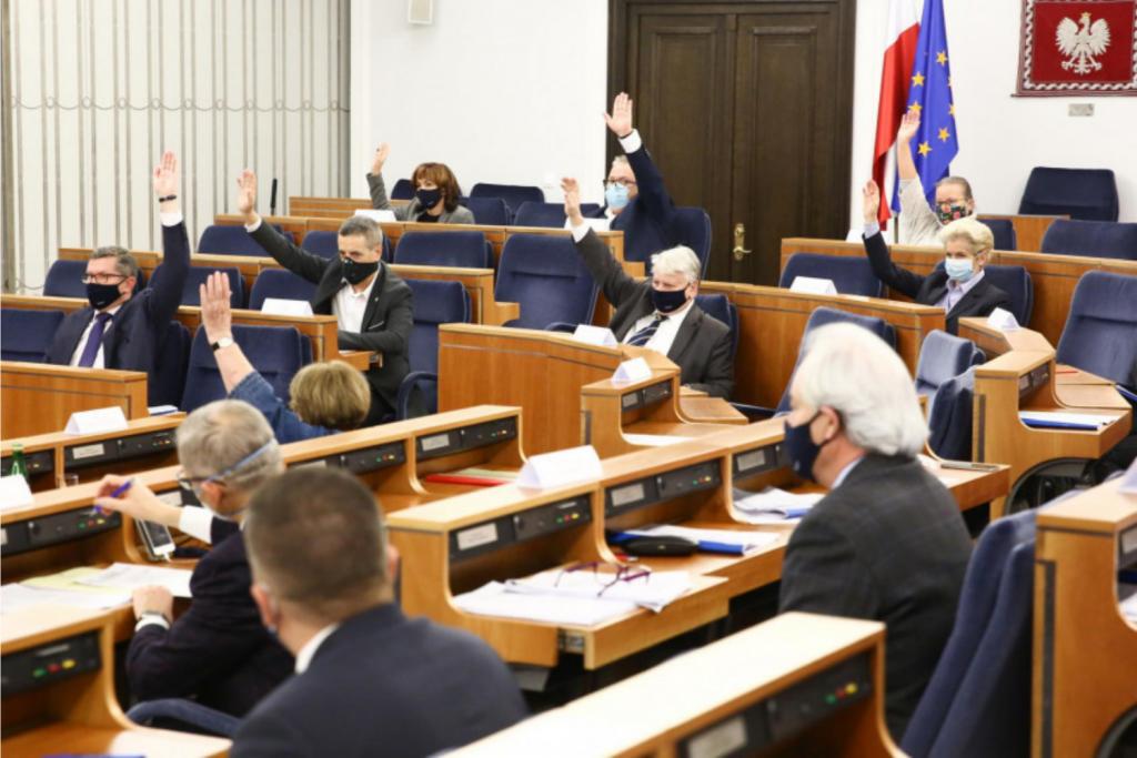 Senat wprowadził kilkaset poprawek do ustawy dot. tarczy 6.0. Projekt wrócił do sejmu - Zdjęcie główne