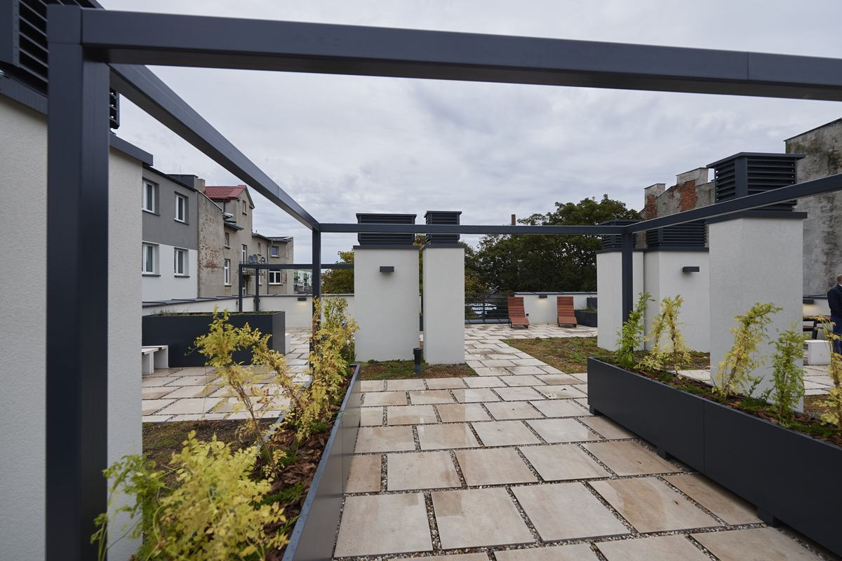 Akademik z ogrodem na dachu? Ile kosztują luksusy na 6 Sierpnia? [zdjęcia]  - Zdjęcie główne