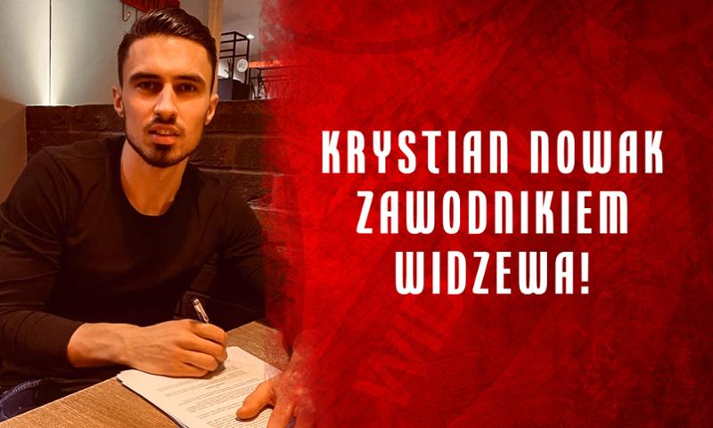 Duże wzmocnienie Widzewa! Krystian Nowak wraca do Łodzi - Zdjęcie główne