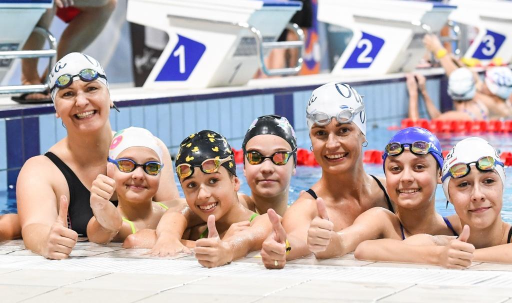 PŁYWANIE: Wielki sukces Otylia Swim Tour w Łodzi. Ponad 200 dzieci zameldowało się w Zatoce Sportu PŁ - Zdjęcie główne