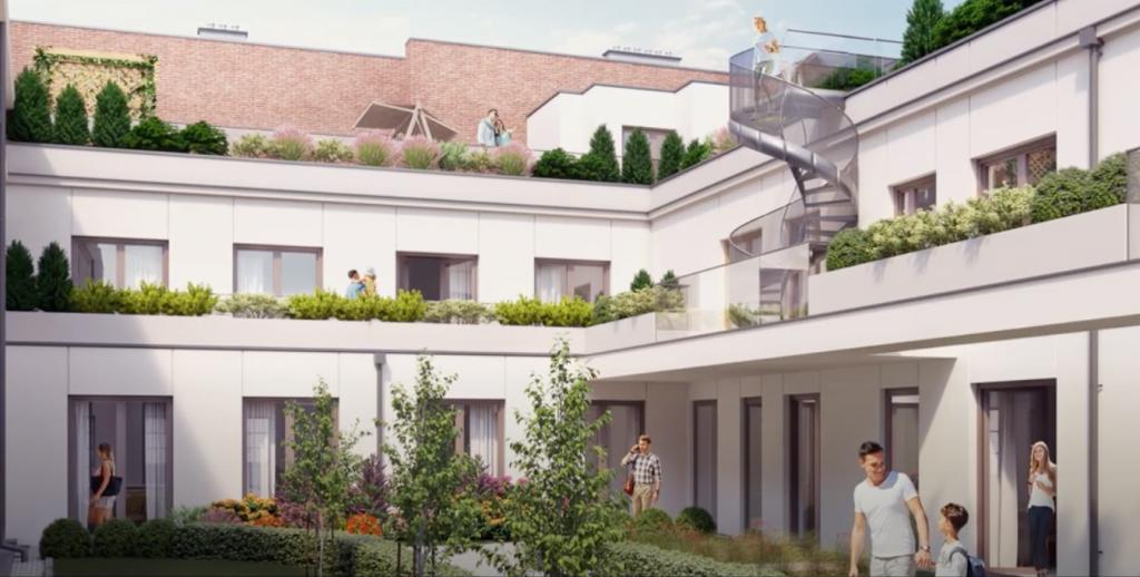 Apartamenty Wiszące Ogrody. Poznaj życie w segmencie Premium w Nowym Centrum Łodzi - Zdjęcie główne