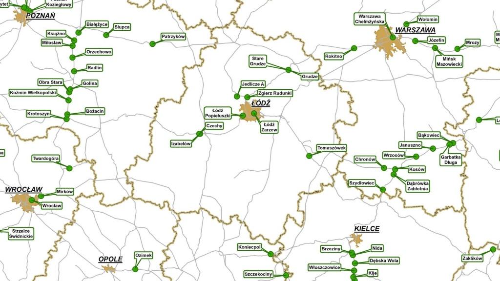 W Łodzi i w aglomeracji powstaną nowe przystanki kolejowe. Sprawdź lokalizacje [MAPA] - Zdjęcie główne