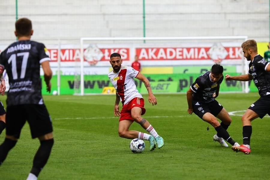 ŁKS Łódź znów zawodzi na Stadionie Króla. Podbeskidzie wygrywa w Łodzi  - Zdjęcie główne