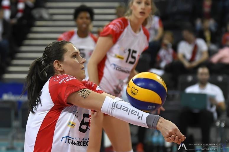 Aleksandra Wójcik przedłużyła kontrakt z ŁKS-em Commercecon Łódź - Zdjęcie główne