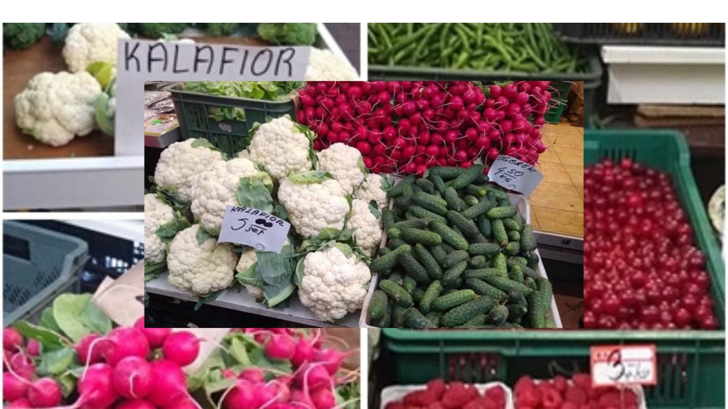 Owoce w górę, warzywa w dół, tanie mięso i wędliny, czyli dlaczego tłumy łodzian robią zakupy na bazarze przy ulicy Zielonej - Zdjęcie główne