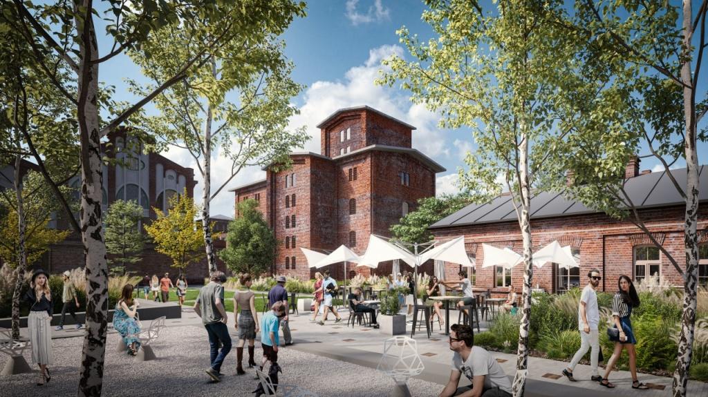 W Łodzi, w sercu dawnego imperium Scheiblerów, powstanie nowy plac miejski. Zobacz! [WIZUALIZACJE] - Zdjęcie główne