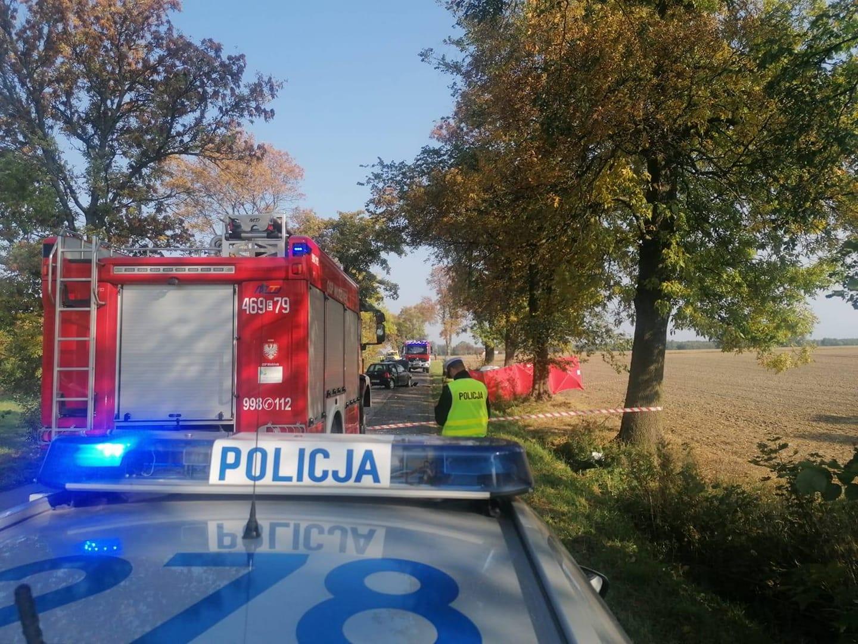 Tragiczny wypadek w Łódzkiem. 39-latek zginął na miejscu - Zdjęcie główne