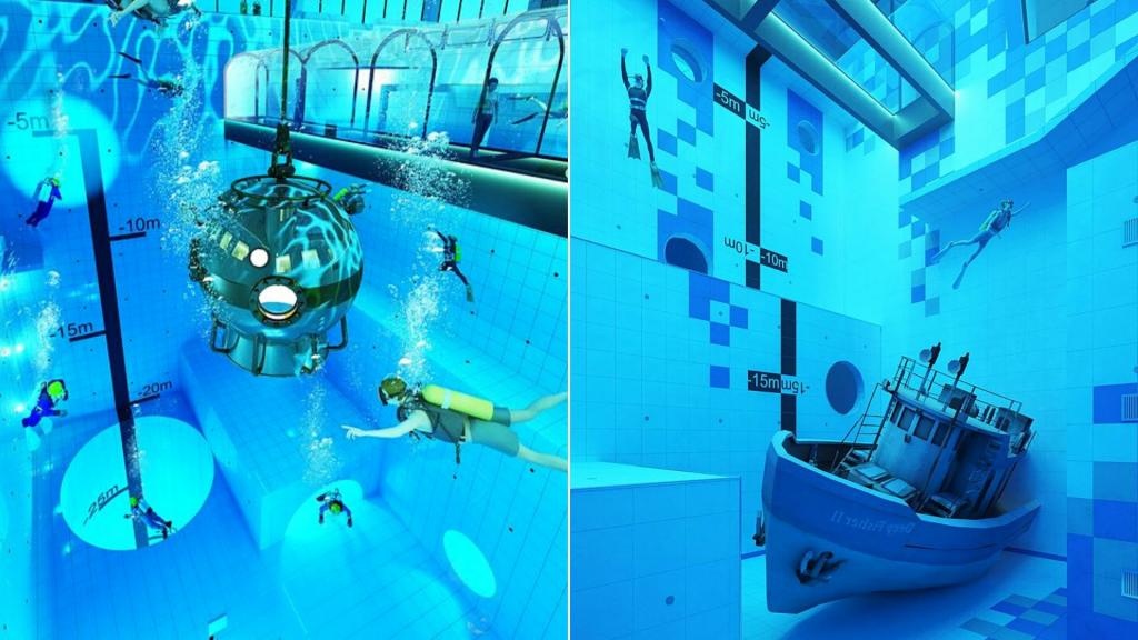 Niedaleko Łodzi powstaje największy i najgłębszy basen nurkowy na świecie! Dostępny dla każdego [ZDJĘCIA] - Zdjęcie główne