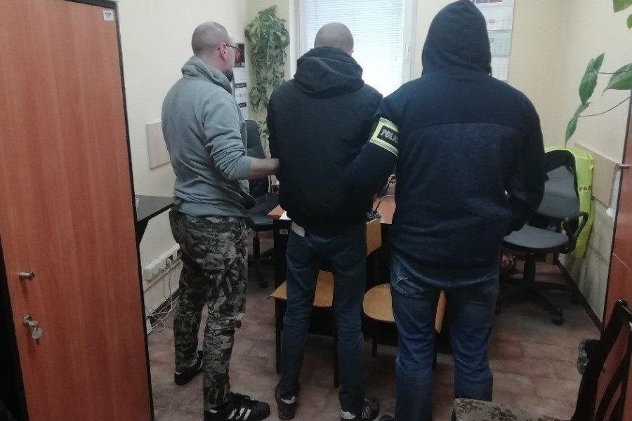 Nastoletni wandale złapani na Chojnach [ZDJĘCIA] - Zdjęcie główne