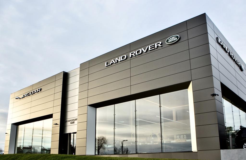 Jaguary i Land Rovery w całkiem nowym salonie [ZDJĘCIA] - Zdjęcie główne