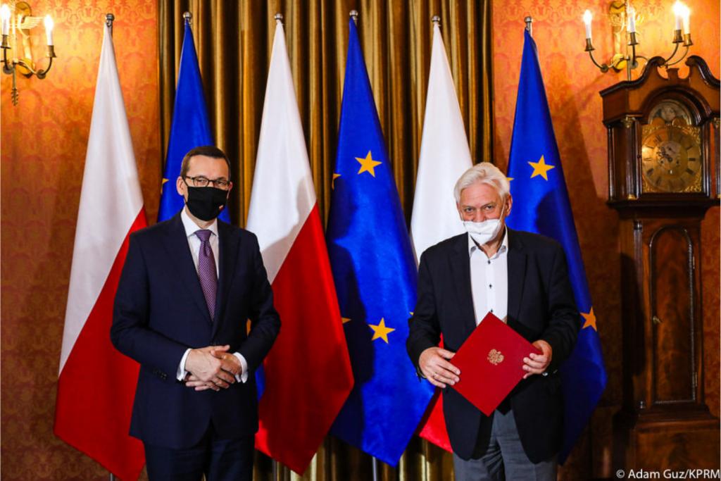 Doradca premiera, prof. Andrzej Horban o aktualnej sytuacji epidemicznej i zmniejszonej liczbie testów - Zdjęcie główne