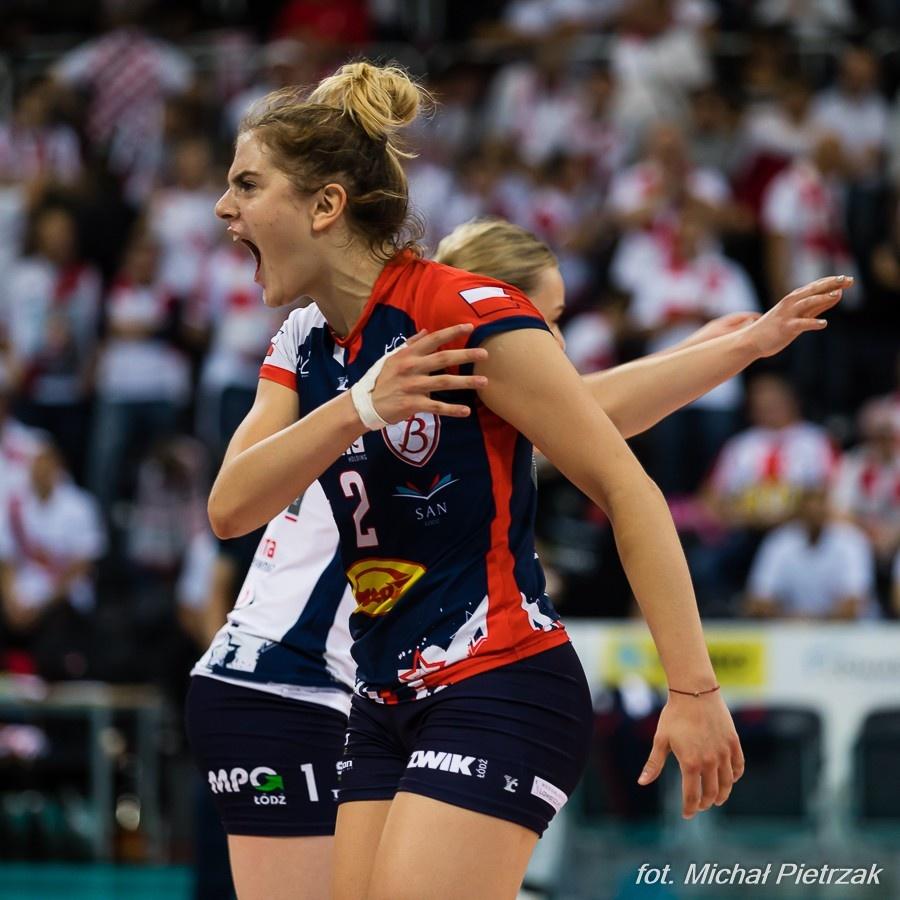 Rozgrywająca zostaje na kolejny sezon w Grot Budowlanych Łódź - Zdjęcie główne