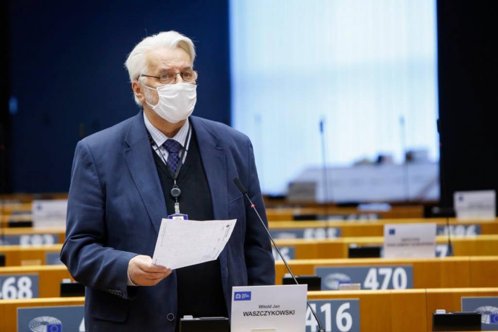 Europoseł PiS i były kandydat na prezydenta Łodzi, Witold Waszczykowski wyśmiał decyzję Zbigniewa Raua - Zdjęcie główne