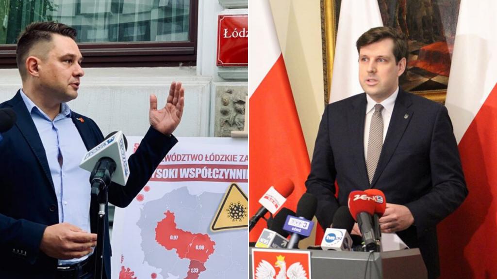 """Radni KO w Łodzi: """"Mamy najgorszego wojewodę w kraju"""". Wojewoda: """"To skrajna ignorancja i brak kompetencji"""" - Zdjęcie główne"""