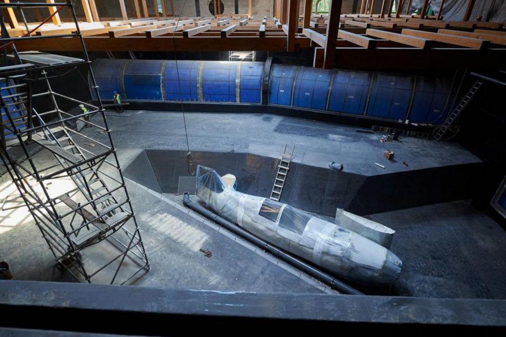 Prace w  Orientarium łódzkiego zoo trwają – ogromny zbiornik, w którym za jakiś czas zamieszkają płaszczki i rekiny, za miesiąc wypełni się wodą - Zdjęcie główne