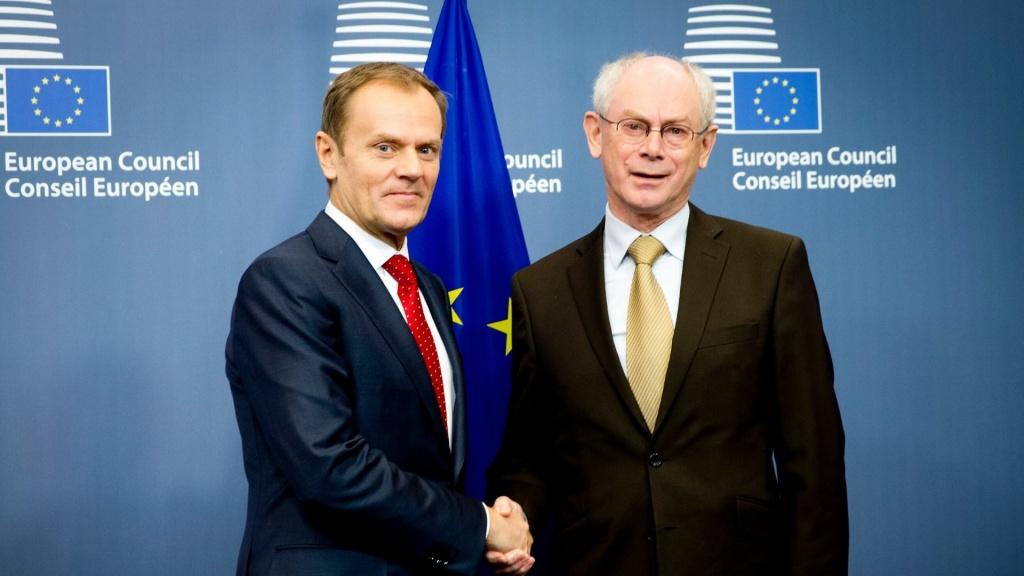 Uniwersytet Łódzki przyznał doktora honoris causa Hermanowi Van Rompuyowi - Zdjęcie główne