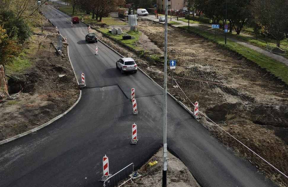 Remont Obywatelskiej w Łodzi. Jak wygląda postęp prac? [zdjęcia] - Zdjęcie główne
