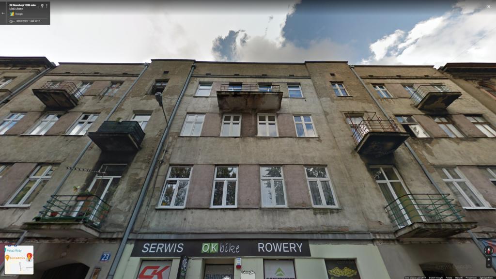 Śmiertelny wypadek w centrum Łodzi. Kobieta wypadła z balkonu - Zdjęcie główne
