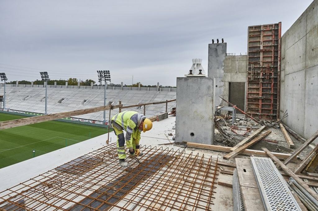 Budowa stadionu ŁKS-u. Zakończenie prac już za rok! - Zdjęcie główne