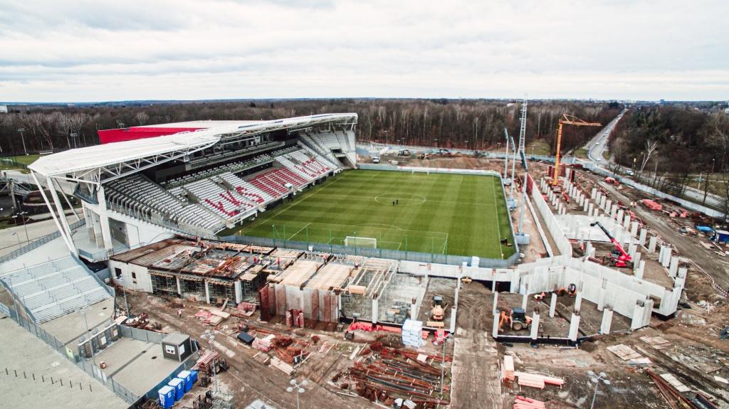 Rozbudowa stadionu ŁKS-u idzie pełną parą! [ZDJĘCIA   WIDEO] - Zdjęcie główne