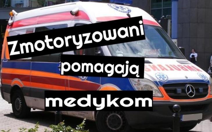 Zmotoryzowani w Łodzi zbierają na materiały do szycia, potrzebne łódzkim szpitalom  - Zdjęcie główne