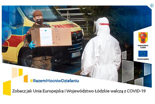 Unia Europejska i Województwo Łódzkie wspierają mieszkańców - Zdjęcie główne