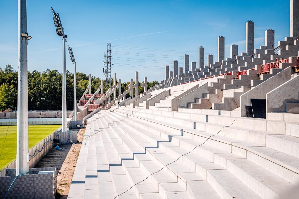 Poczyniono kolejne kroki w budowie stadionu ŁKS-u - Zdjęcie główne