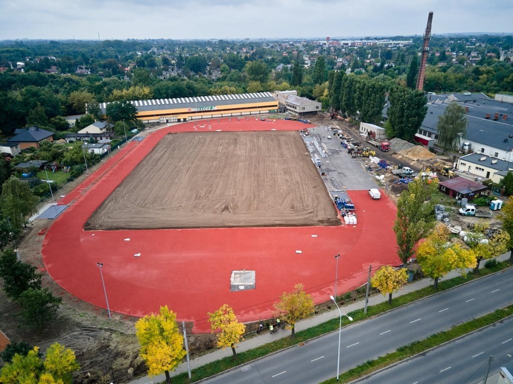 RKS Łódź. Na stadionie powstanie nowoczesna arena lekkoatletyczna - Zdjęcie główne