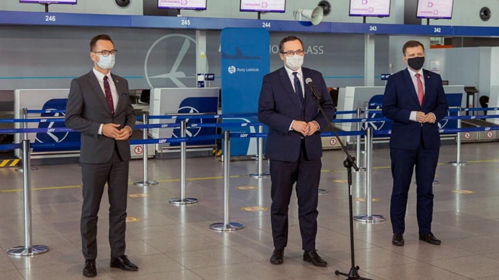 Łódzkie lotnisko na liście portów, które uzyskają rządową pomoc! Budżet wsparcia to 142 mln zł - Zdjęcie główne