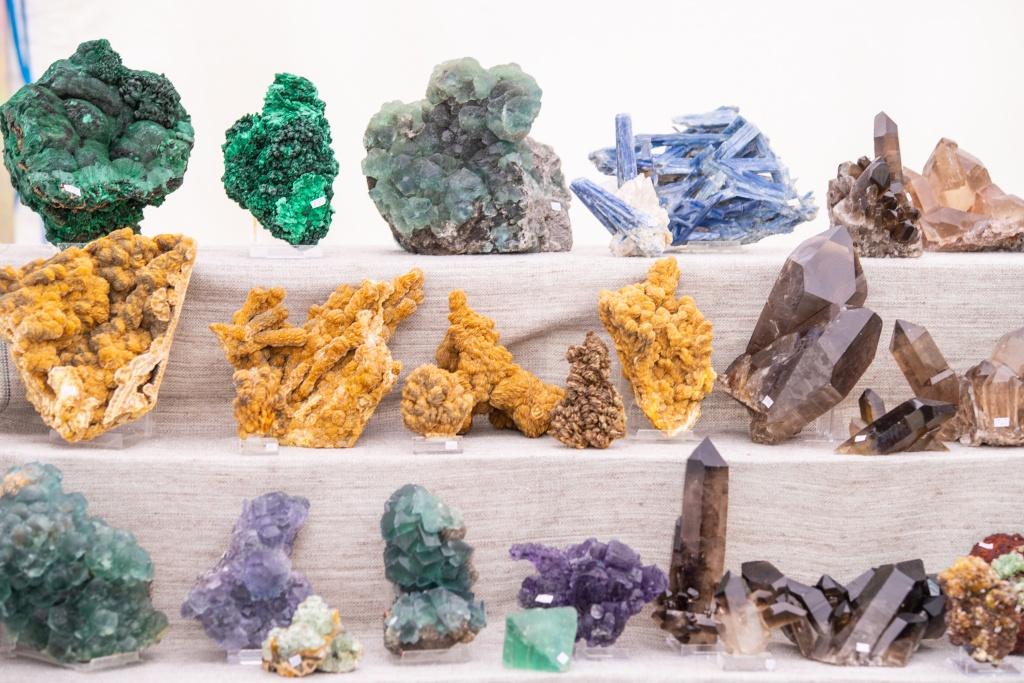 Setki wystawców na targach minerałów Interstone w Łodzi [zdjęcia] - Zdjęcie główne