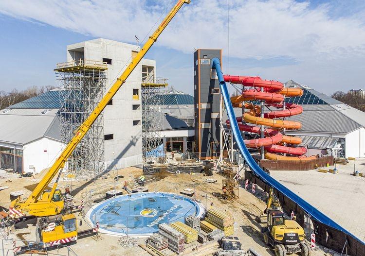 Łódzki Aquapark Fala będzie, jak nowy! [ZDJĘCIA] - Zdjęcie główne