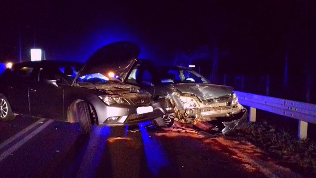 Kolejny groźny wypadek w Rąbieniu pod Łodzią. Kierowca w szpitalu [ZDJĘCIA] - Zdjęcie główne