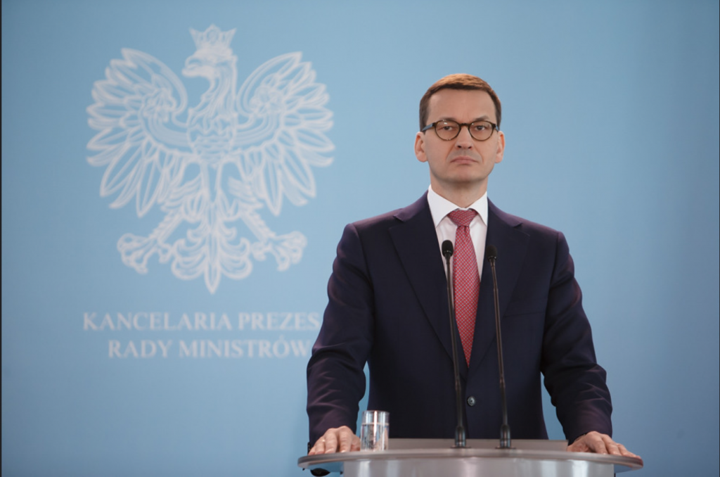 """Premier Morawiecki: """"Po wybuchu epidemii Polska jest w lepszej sytuacji niż inne kraje"""" - Zdjęcie główne"""