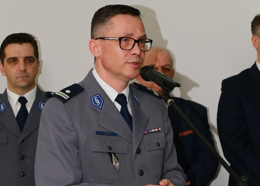 Zmiana na stanowisku Komendanta Wojewódzkiego Policji w Łodzi - Zdjęcie główne