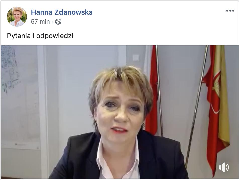 Hanna Zdanowska odpowiada na Wasze pytania. Zobacz! [WIDEO] - Zdjęcie główne