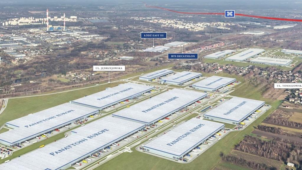 W Łodzi powstaje największy w Europie kompleks logistyczny. Kolejna inwestycja o wartości 18 mln € [ZDJĘCIA] - Zdjęcie główne