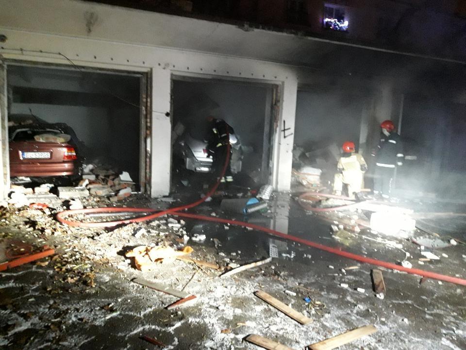 Eksplozja na Bałutach. Straty na ponad 250 tysięcy złotych - Zdjęcie główne