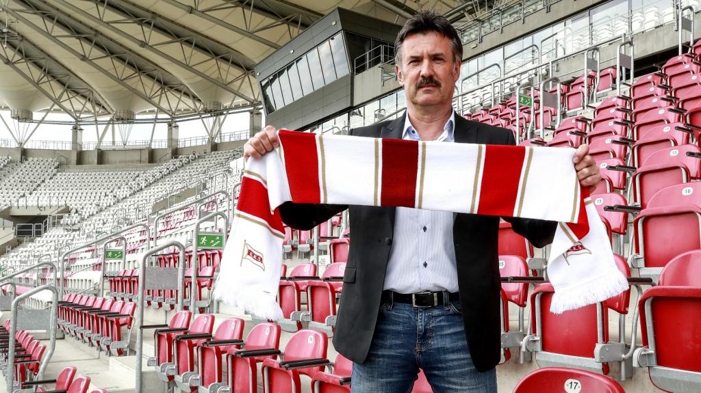 To nie pierwsza współpraca Wojciecha Stawowego z dyrektorem sportowym ŁKS-u - Zdjęcie główne