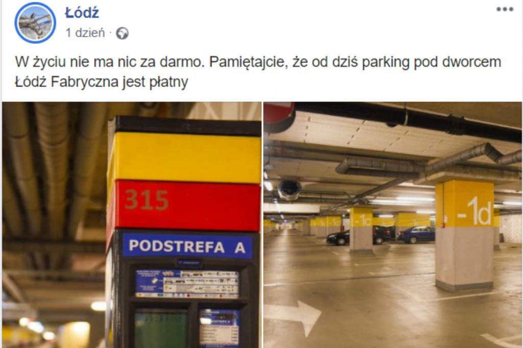 """""""W życiu nie ma nic za darmo"""" – tak miasto zakomunikowało, że parking przy Fabrycznej jest płatny - Zdjęcie główne"""